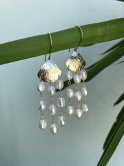 Las Perlas Earrings - Albisia Jewelry