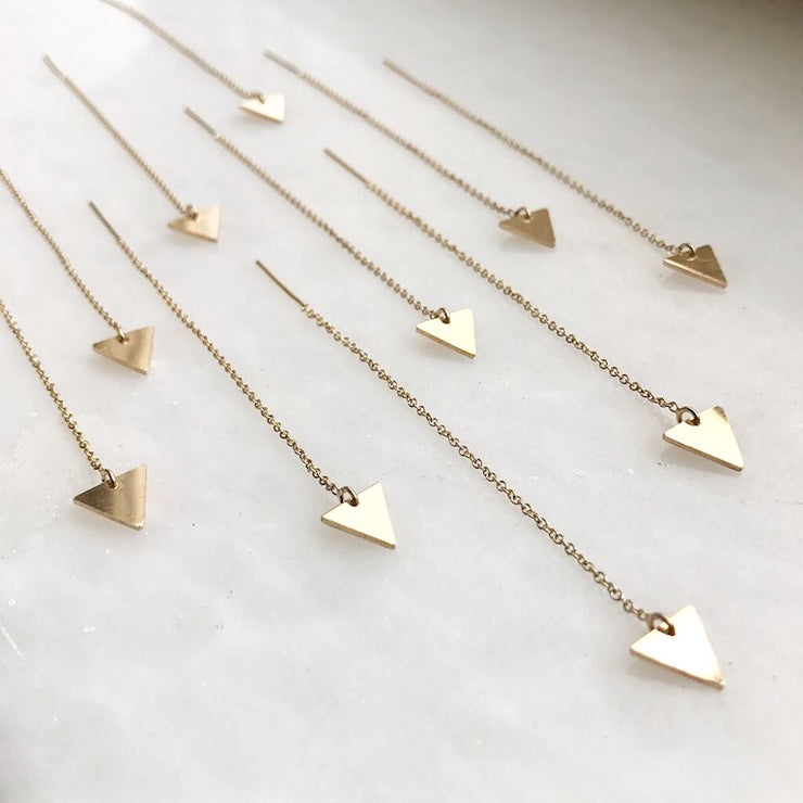 Albisia Jewelry - Arrow Threaders