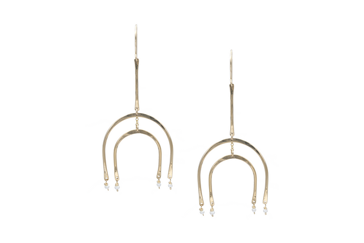 Minerva Earrings - Albisia Jewelry
