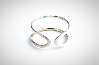 Albisia Jewelry - Entrambi Ring - Sterling Silver