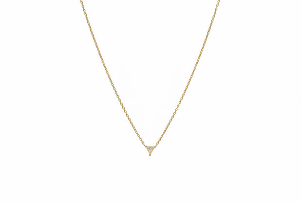 Solo Diamond Necklace - Albisia Jewelry