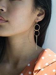 Double Loops - 14K Gold Filled
