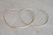 Albisia Jewelry - Choker Sterling Silver and 14K Gold Filled