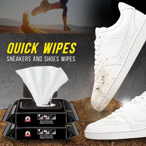 QUICK WIPES SHOE WIPES (BUY 1 GET 1 FREE)