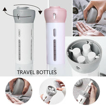 Load image into Gallery viewer, BUY 1 GET 1 Portable 4-in-1 Travel Bottle Dispenser (Pink & Gray)