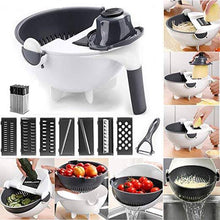 Load image into Gallery viewer, 9-IN-1 EASY VEGGIE CUTTER with DRAIN BASKET