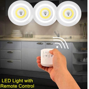 BUY 1 GET 1 3pcs. LED LIGHTS (with remote control)