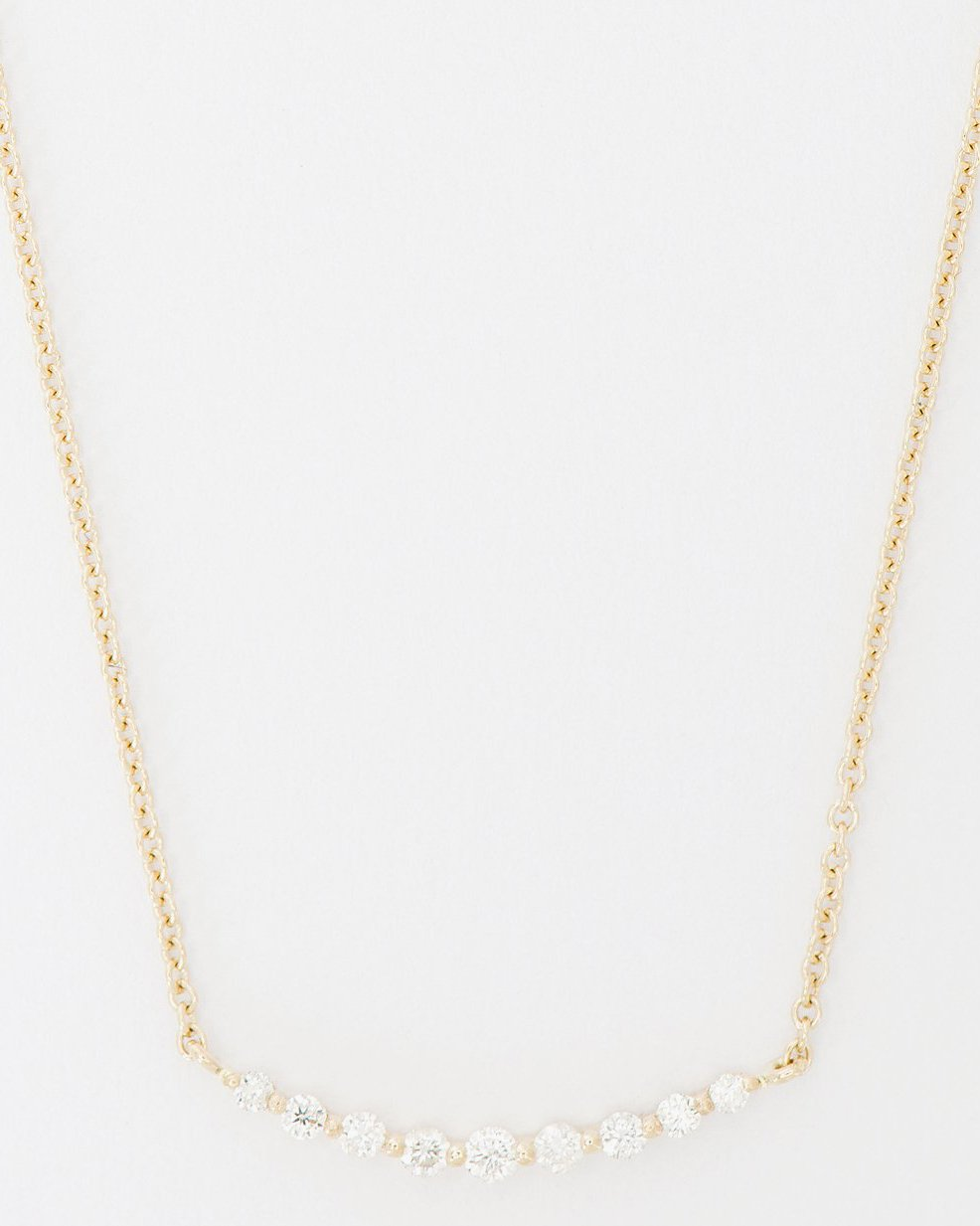DIPSEA SMALL DIAMOND CURVE NECKLACE