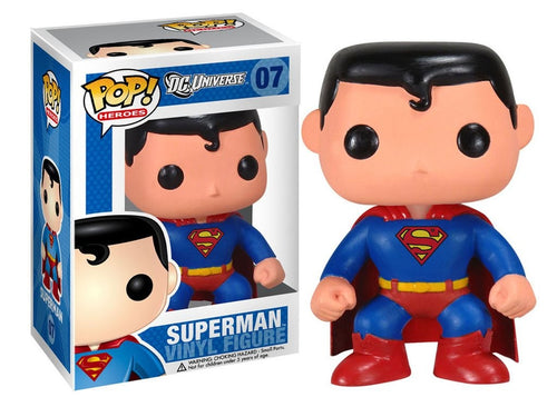 Pop! Heroes: Superman - Mundo Funtastic, tu tie