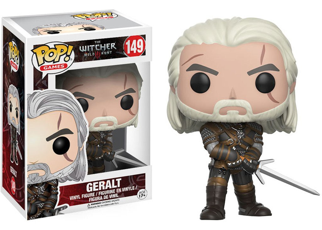 Geralt Funko POP! Nº 149 : The Witcher - Mundo