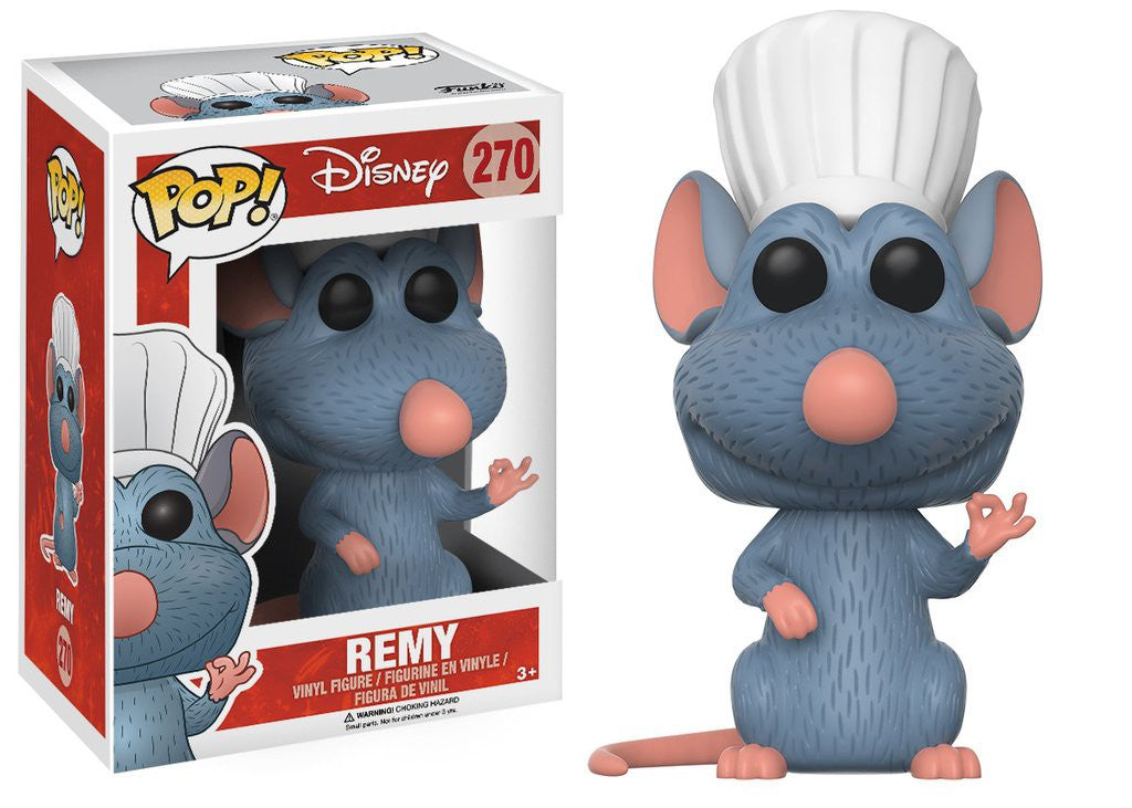 Pop! Disney: Ratatouille - Remy - Mundo Funtast