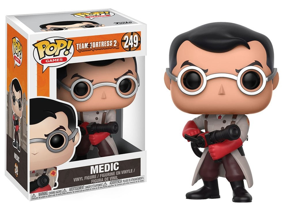 Pop! Games: Team Fortress 2 - Medic - Mundo Fun