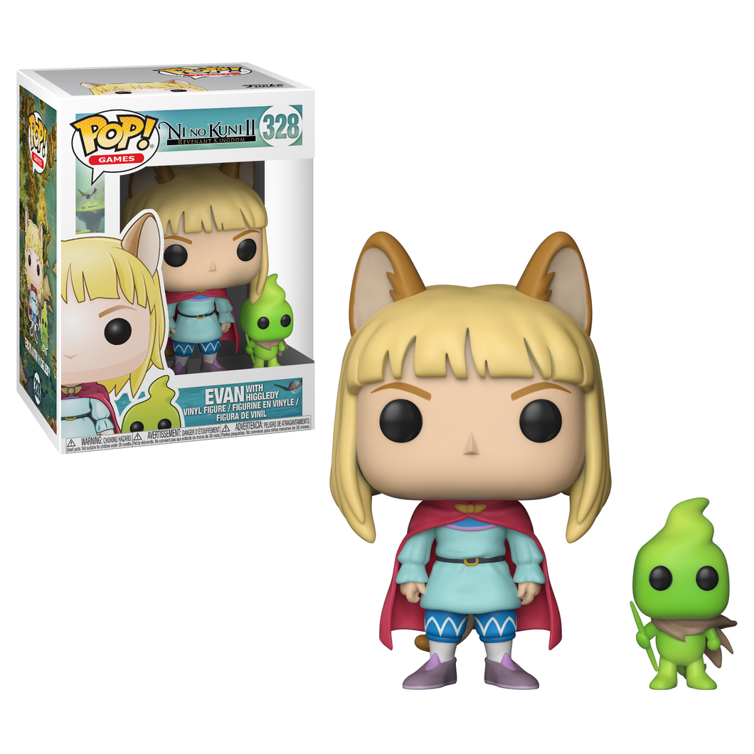 Pop! Games: Ni No Kuni - Evan - Mundo Funtastic