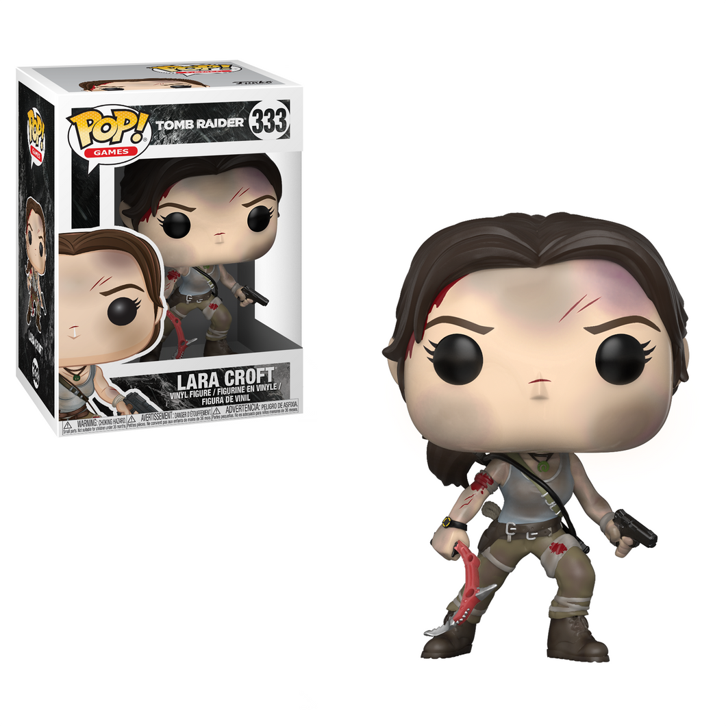 Pop! Games: Tomb Raider - Lara Croft - Mundo Fu