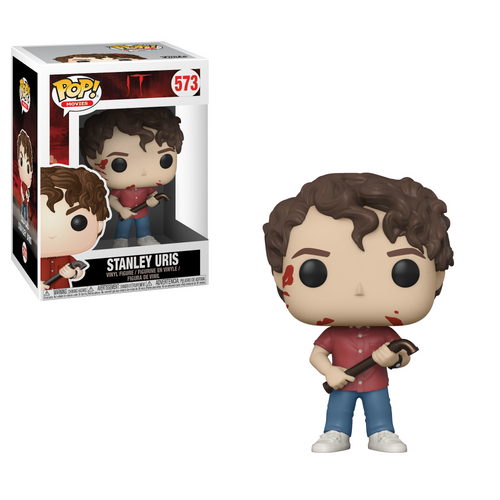 Pop! Movies: It - Stanley Uris - Mundo Funtasti