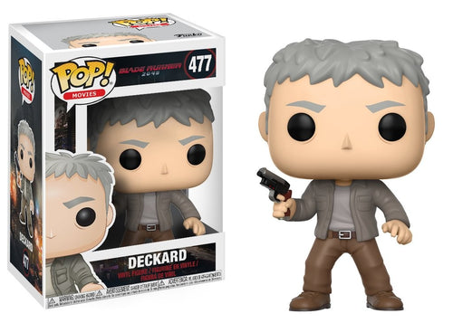 Pop! Movies: Blade Runner 2049 - Deckard - Mund