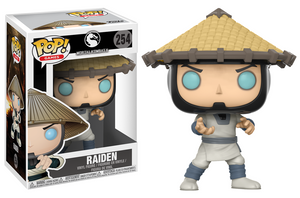 Pop! Games: Mortal Kombat - Raiden - Mundo Funt