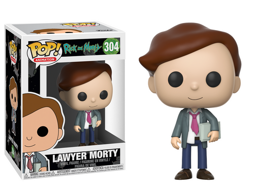 Pop! Animation: Rick and Morty - Lawyer Morty -