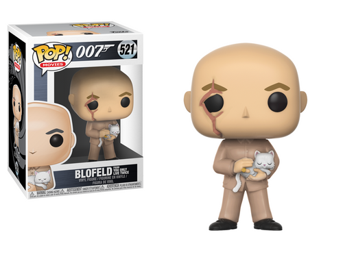Pop! Movies: James Bond - Blofeld - Mundo Funta