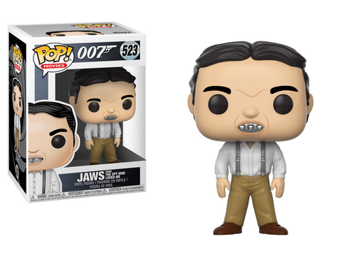 Pop! Movies: James Bond - Jaws - Mundo Funtasti