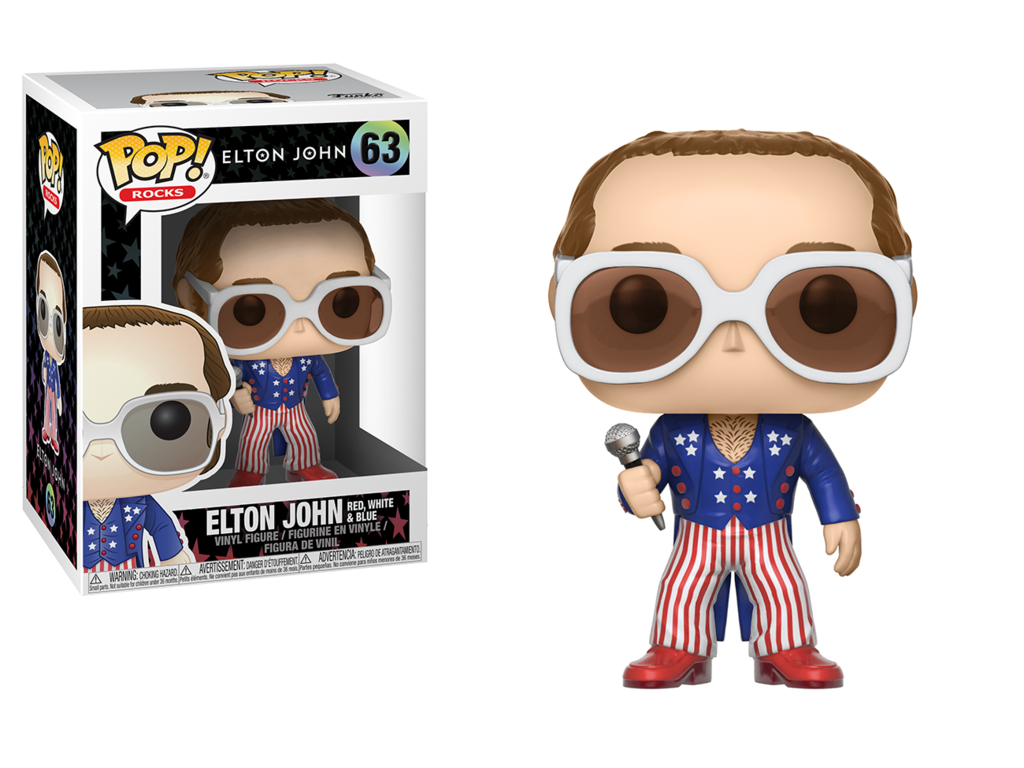 Pop! Rocks: Elton John Red, White & Blue - Mund
