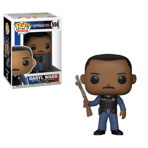 Pop! Movies: Bright - Daryl Ward - Mundo Funtas