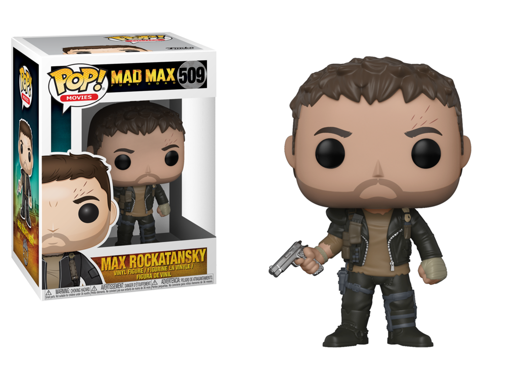 Pop! Movies: Mad Max Fury Road - Max Rockatansk