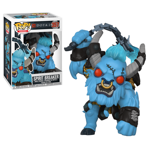 Pop! Games: Dota 2 - Spirit Breaker - Mundo Fun