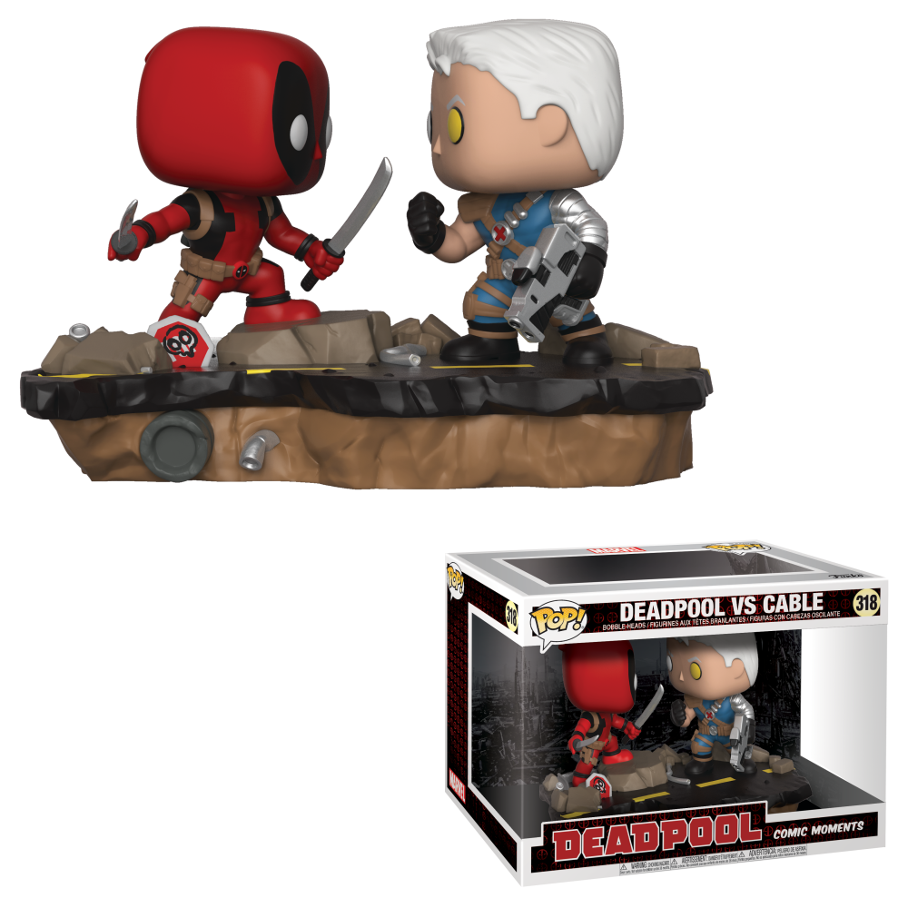 Pop! Marvel: Comic Moments - Deadpool vs. Cable
