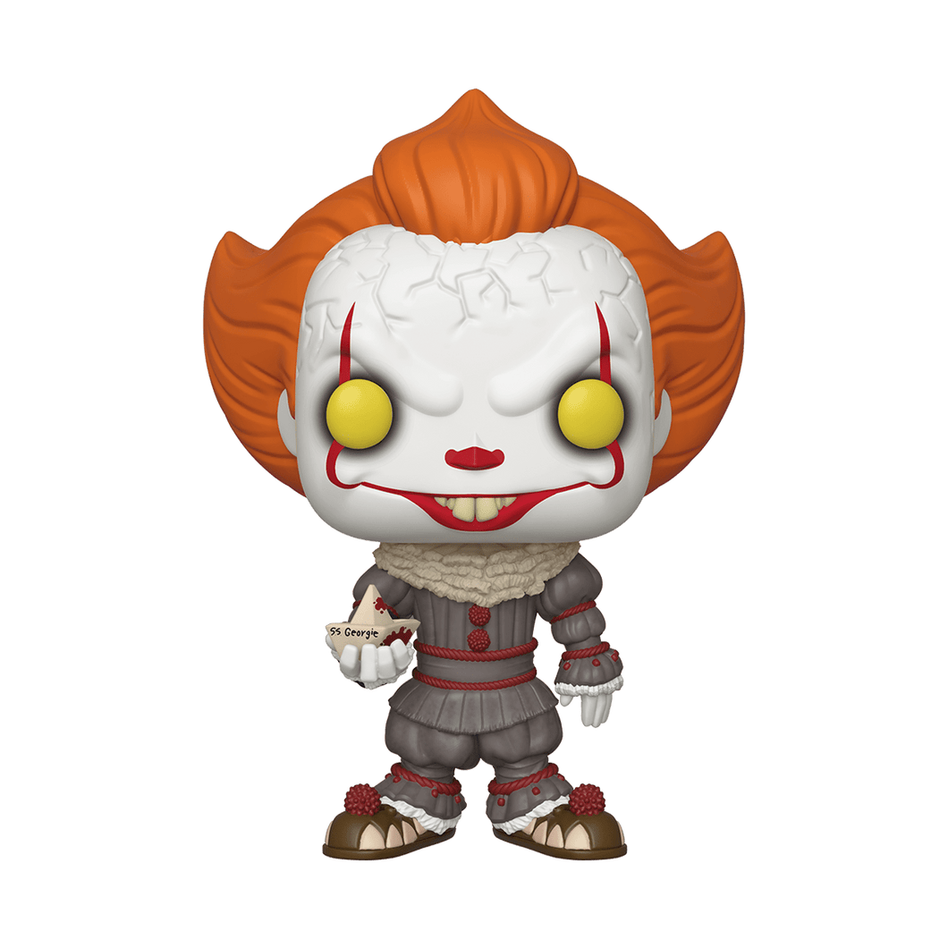 Pennywise Supersize con barco Funko POP! - Mund