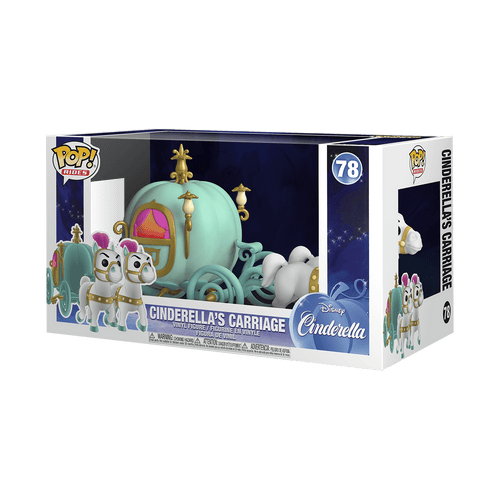 Carruaje de Cenicienta Funko POP Cenicienta - M