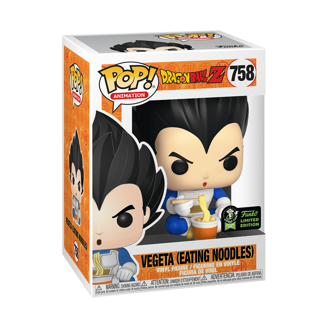 Vegeta (Comiendo Noodles) Funko POP! Dragon Bal