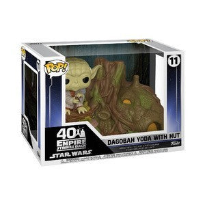Yoda and Yodas Hut Town Funko : Start Wars - Mu