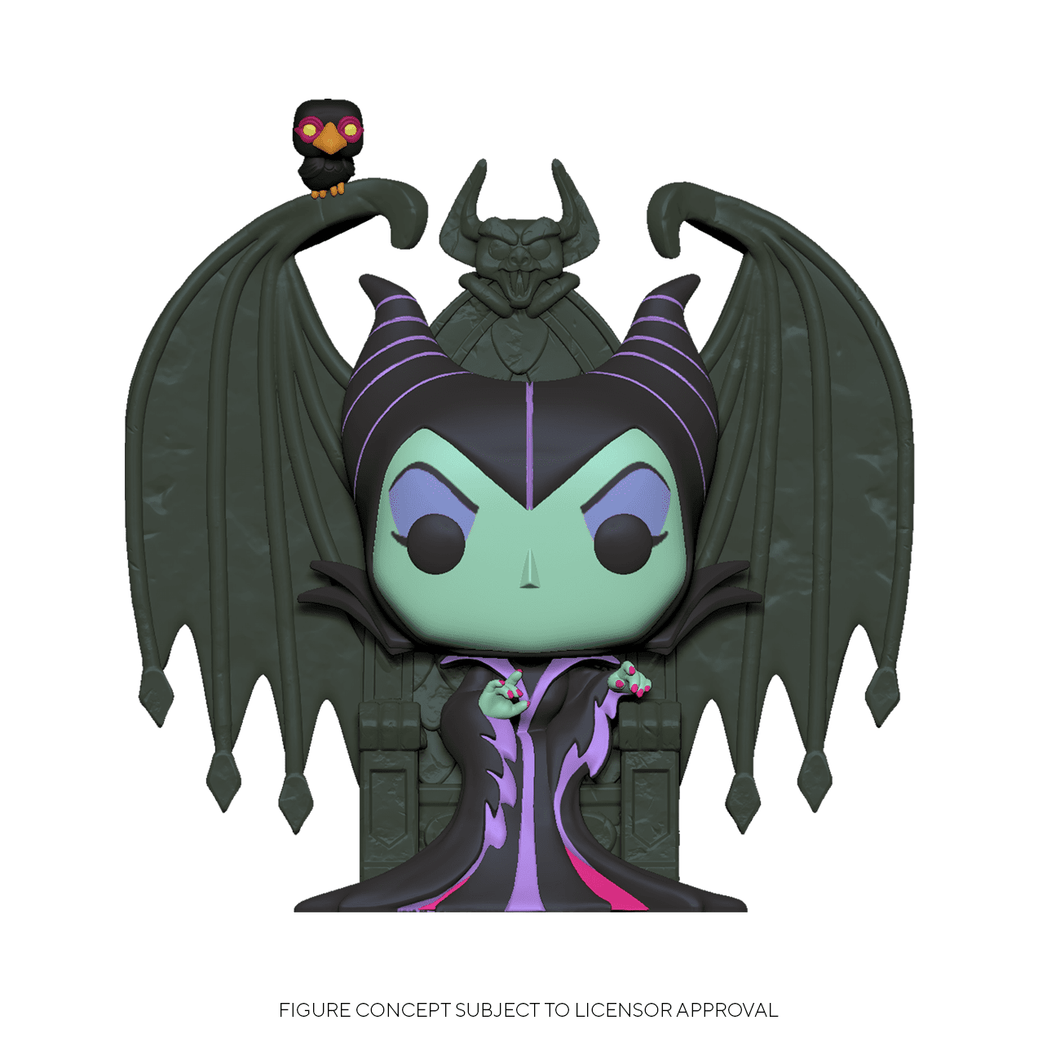 Maleficent on Throne Funko POP! Disney - Mundo