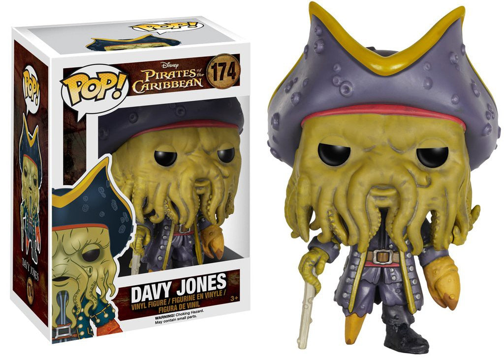 Pop! Disney: Pirates - Davy Jones - Mundo Funta