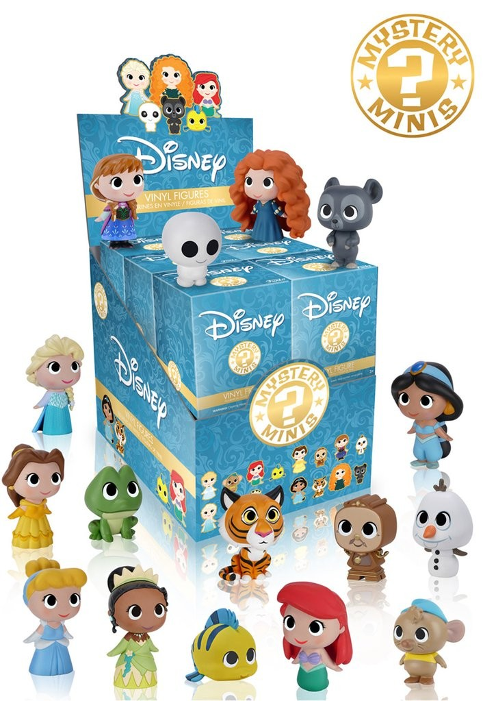 Mystery Minis Blind Box: Disney Princess - Mund