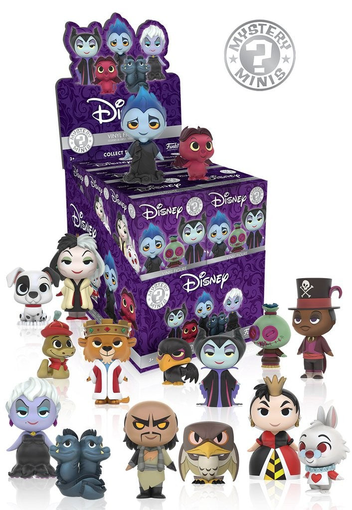 Mystery Minis Blind Box: Disney - Villains - Mu