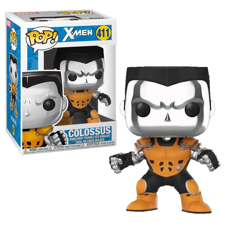 Colossus chrome Funko POP! N1 411 : X-Men - Mun