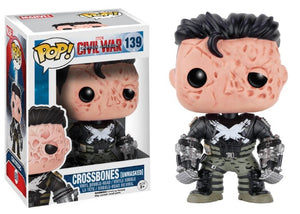 Crossbones Unmasked Funko POP! Nº 139 : Marvel