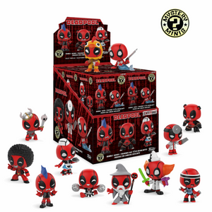 Mystery Mini Deadpool Exclusivo - Mundo Funtast