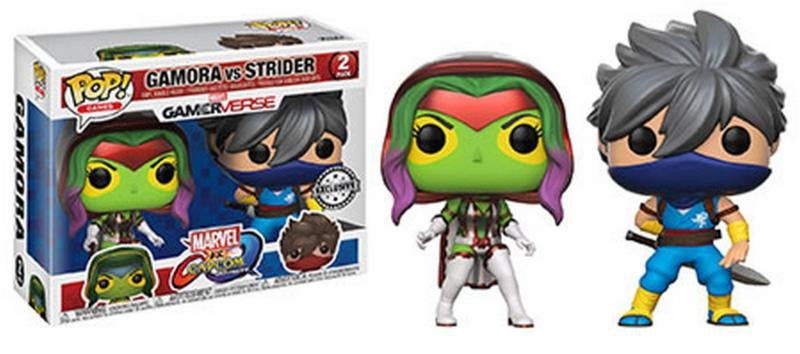 Gamora vd Strider 2-pack Funko POP! Marvel vs C