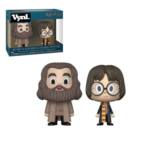 Harry Potter y Hagrid Vynl pack Funko - Mundo F