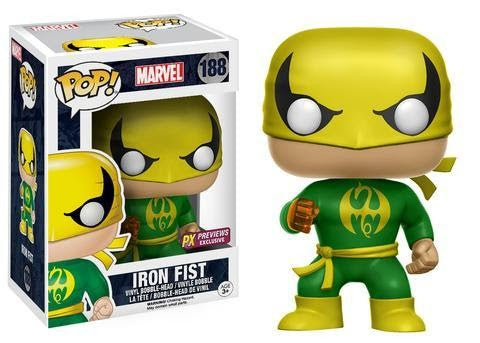 Iron Fist Classic Funko POP! Nº 188 : Marvel -
