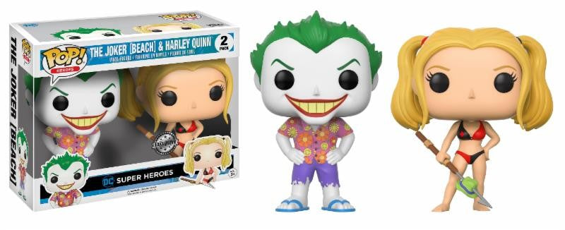 Joker & Harley Quinn Beach Funko POP! DC Comics