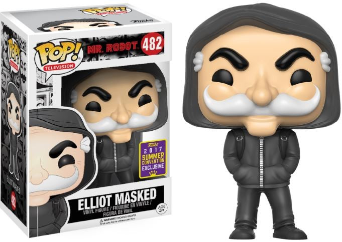 Elliot Masked SDCC Funko POP! Mr Robot - Mundo