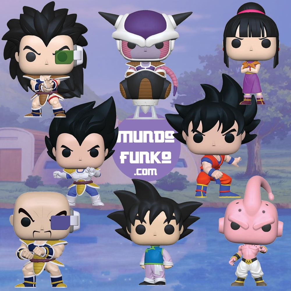 Pack Dragon Ball Z Funko POP! - Mundo Funtastic
