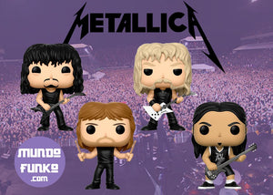 Pack Metallica Funko POP! - Mundo Funtastic, tu