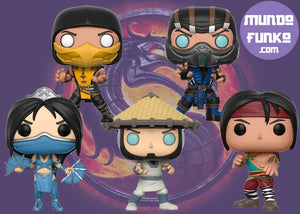 Pack Mortal Kombat Funko POP! - Mundo Funtastic