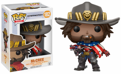 USA McCree Funko POP! Nº 182 : Overwatch - Mun