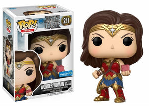 Wonder Woman Mother Box Funko POP! Nº 211 : La